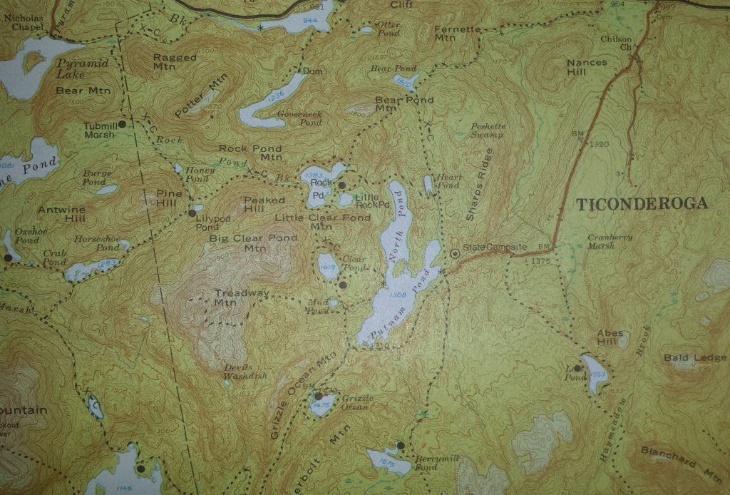 putnam pond, rock pond ny, may 5, 2018 storm, ticonderoga, chilson